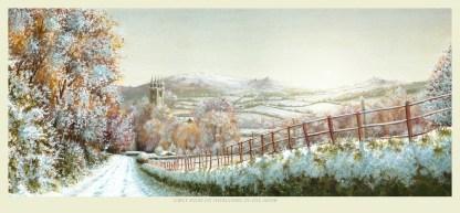 Widecombe Snow