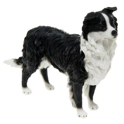 Sheepdog at attention Figurine