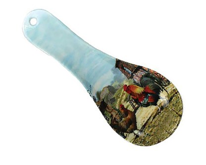 Cockerel Spoon Rest