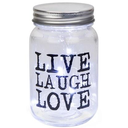 Led Jar - Live, Laugh, Love