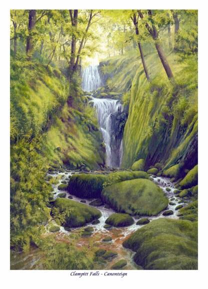 Clampitt Falls - Dartmoor