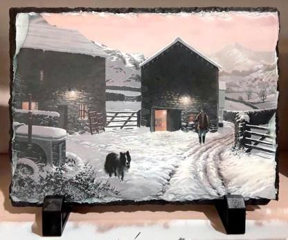 Fellfoot Farm Standing Slate