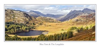 Blea Tarn & Langdales Greeting Card