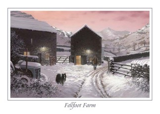 Fellfoot Farm Greeting Card