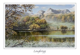 Loughrigg Tarn Greeting Card