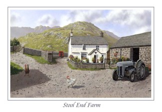 Stool End Farm Greeting Card