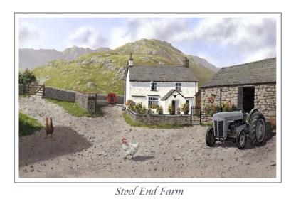 Stool End Farm Greeting Card
