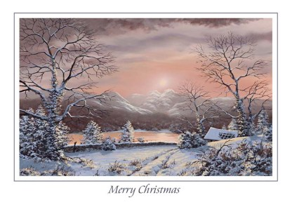 Windermere Winter Christmas Card