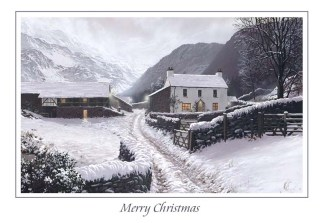 Yew Tree Farm Christmas Card