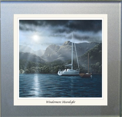 Windermere Moonlight Glass Coaster