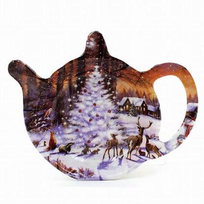 Teabag Rest Winter Wildlife