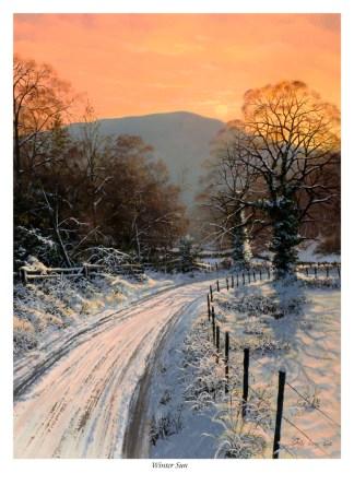 Winter Sun (Portrait) First Edition