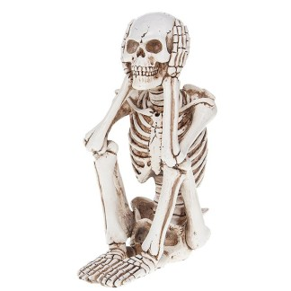 Funny Bone Skeleton Sitting