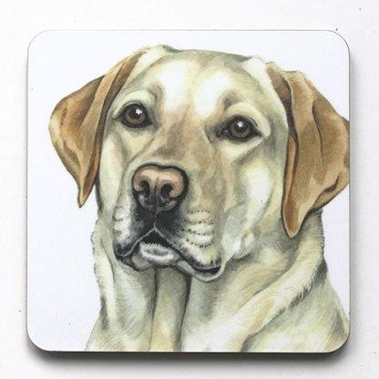 Golden Labrador Coaster