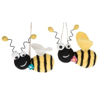 Bee Happy Flying Bee