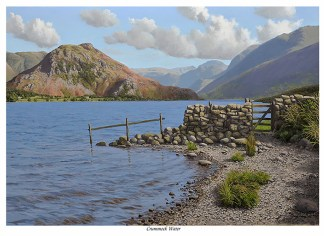 Crummock Water and Rannerdale Knotts First Edition Print