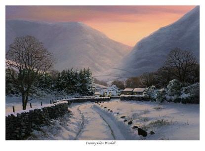Evening glow Wasdale First Edition Print