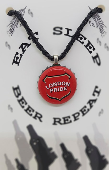 London Pride Beer Cap Pendant