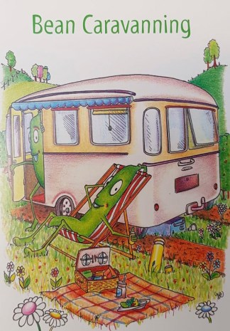 Been Caravanning Greeting Card