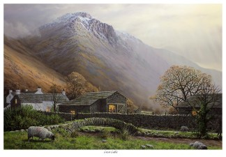 Great Gable from Wasdale First Edition Print
