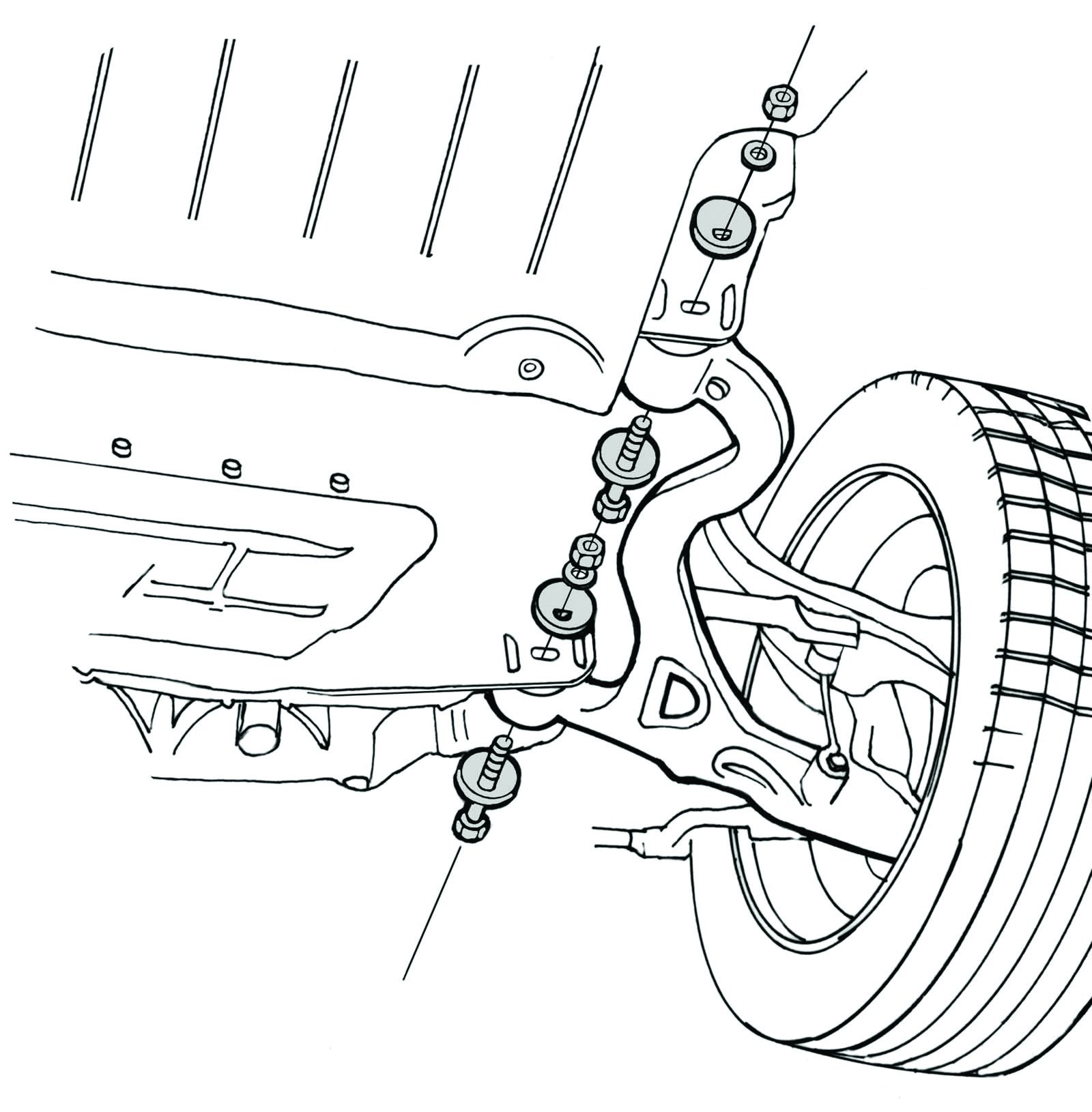 Service Manual How To Align Caster On A Jaguar Xf