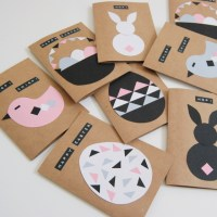 Modern Easter Cards - Learn to make your own!