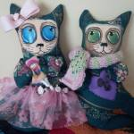 auction handmade cats 1