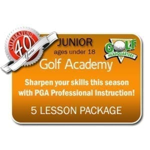 JUNIOR 5 LESSON PACKAGE