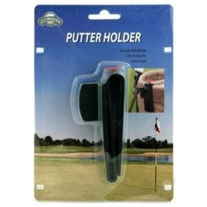 on course putter holder