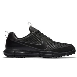 nike explorer 2 golf shoes black