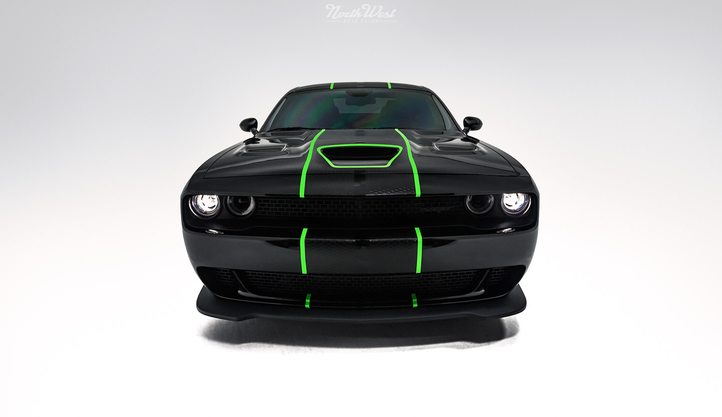 Dodge Challenger Srt Hellcat Gets New Car Detail Ceramic