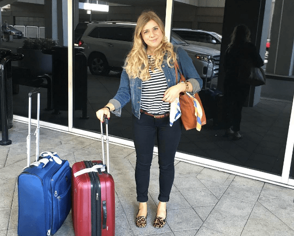 how to be the best dressed girl in the airport - summer travel style