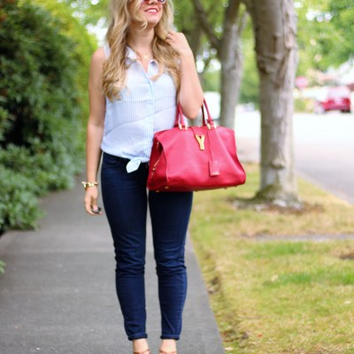 Chic and Simple 4th of July Outfit
