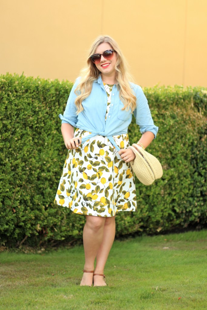 lemon print dress - popular print summer 2017