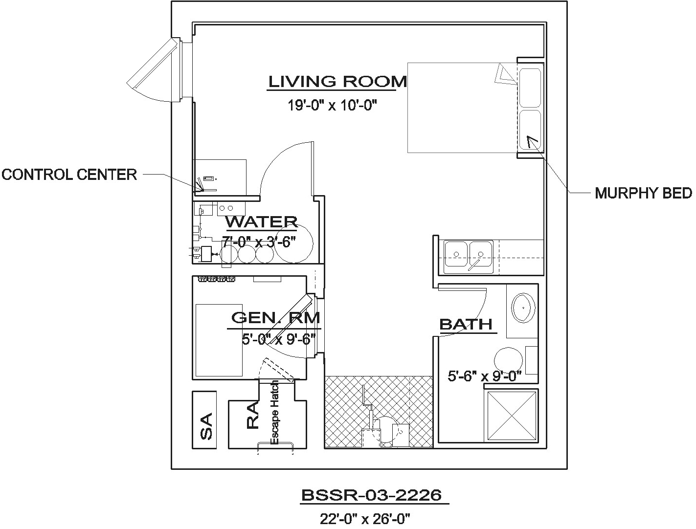 house layout generator bssr 03 2226 northwest shelter systems 12447