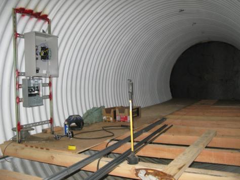 Underground Culvert Shelter - Northwest Shelter Systems