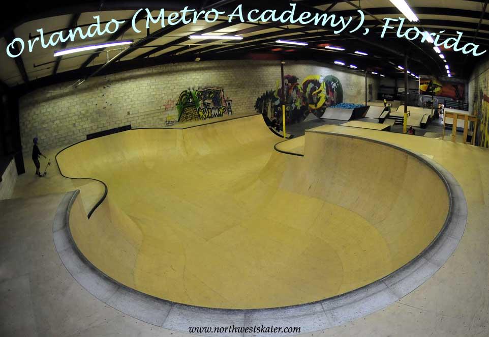 Orlando Metro Academy Florida Skatepark
