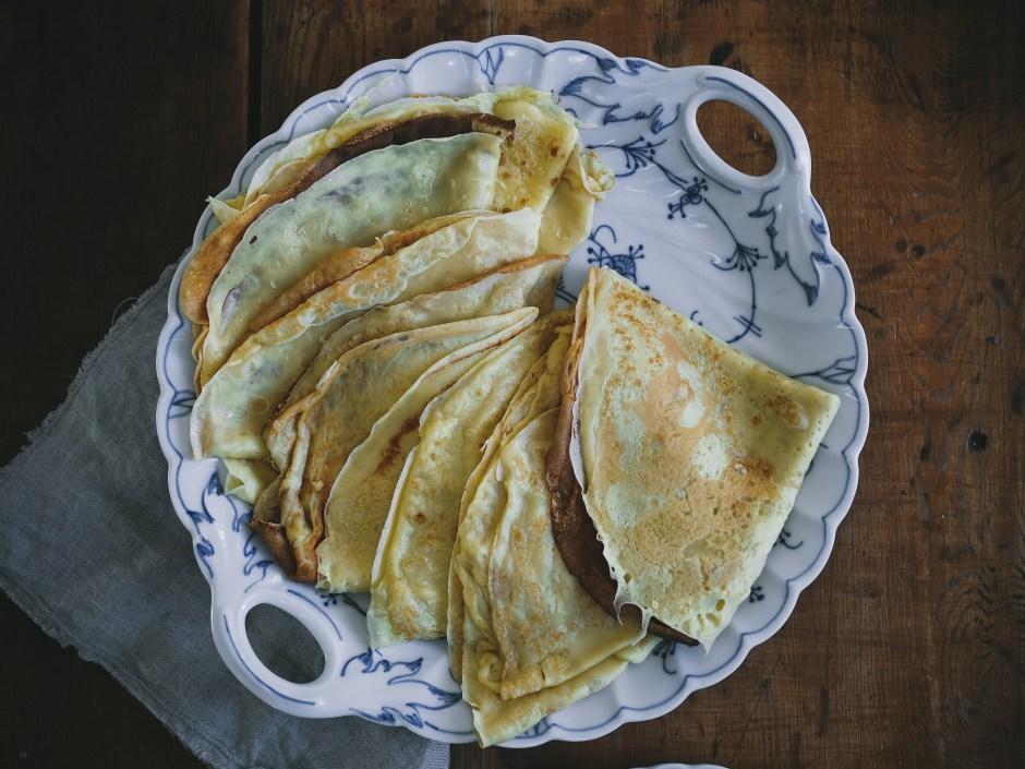Norwegian Pancakes (Pannekaker)