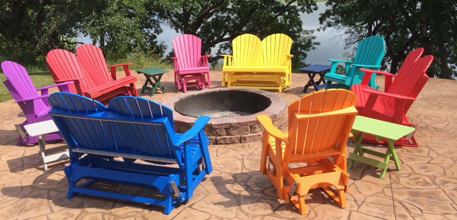 poly patio furniture vs wood outdoor