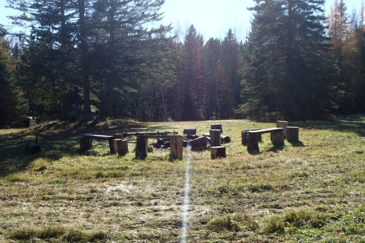 Meadow Campfire Circle