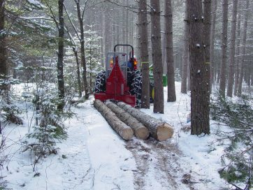 2006 northwoods plantation skidding