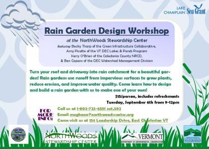Rain Garden Half Page