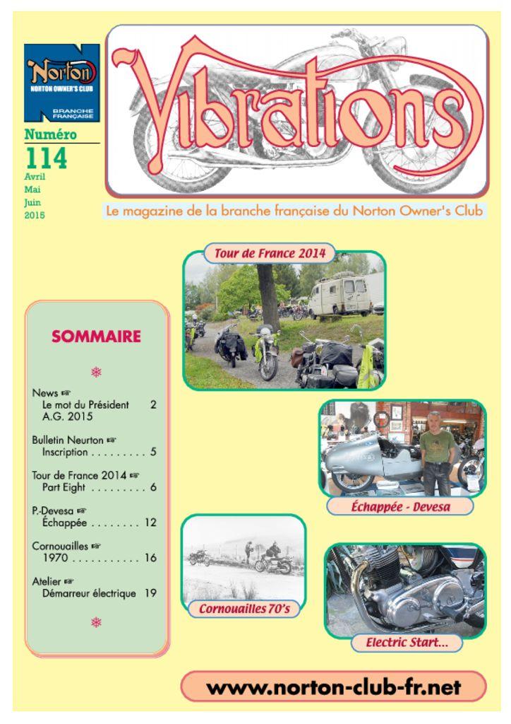 thumbnail of Vibrations n° 114