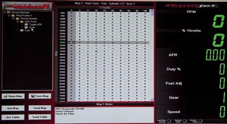 Power Commander PCV vs  Bazzaz Z-Fi vs  ECU Flash vs  aRacer