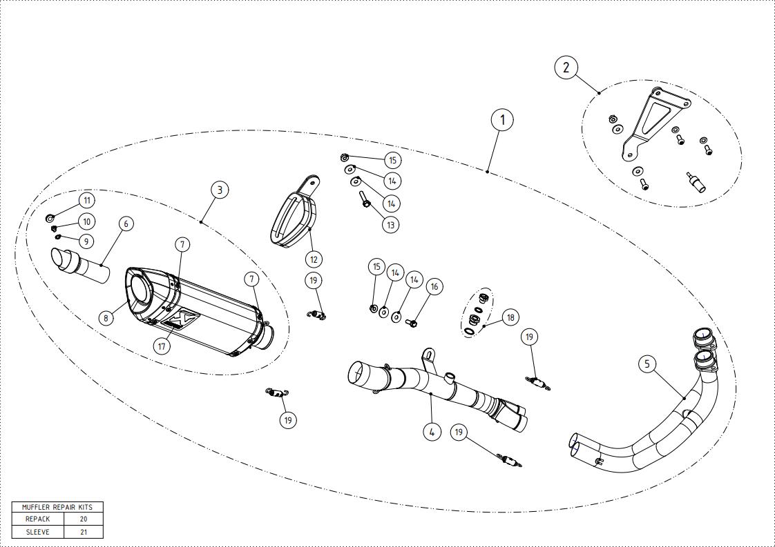 Akrapovic Racing Exhaust System
