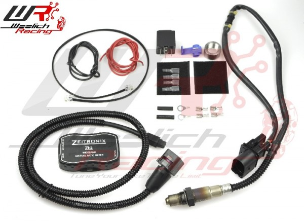 Woolich Racing USB (Denso) v3 + Zeitronix ZT-3 Wideband O2 Package -  Kawasaki Ninja 400 - Norton Motorsports