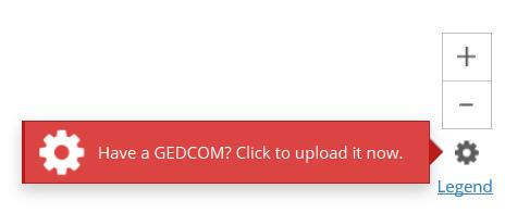 GEDCOM upload