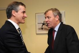 Norwegian Foreign Minister visits NATO