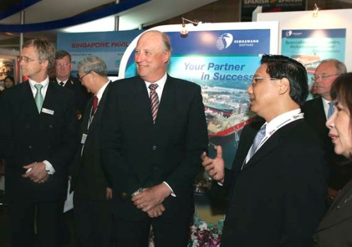 King Harald V attended The Opening Conference in 2007.
