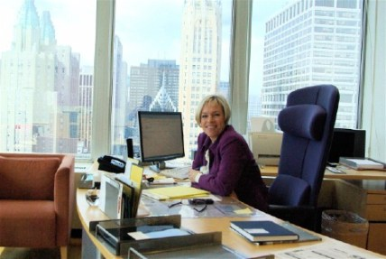 Sissel Breie makes herself at home in New York as the new Consulate General. Photo: Erlend A. Haugen.